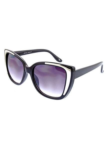Square Cateye Fashion Sunglasses