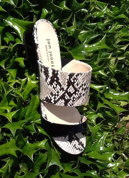 Jon Josef Capri Slide On Sandal -Serpiente - LilloBellaBoutique.com