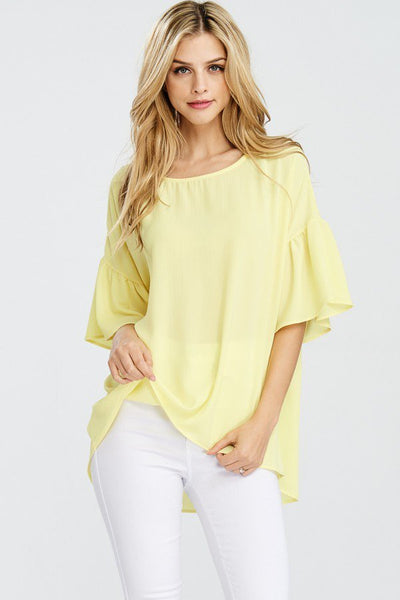 Spring Fresh Top - Sunshine - LilloBellaBoutique.com