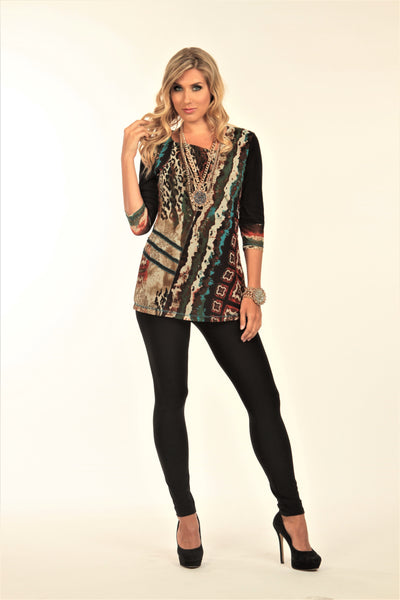 Lior Paris Vancouver Nights Top - LilloBellaBoutique.com