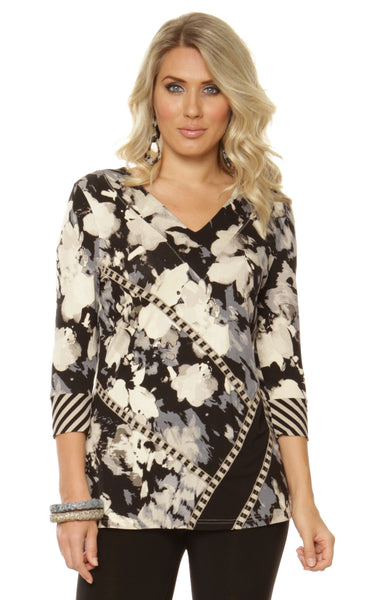 Lior Paris Cotton Field Print Top