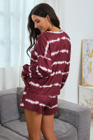HippyChic Pajama Set - Wine - LilloBellaBoutique.com