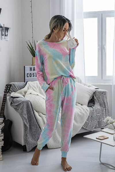 Maddy Pajama Set - Multi-color - LilloBellaBoutique.com