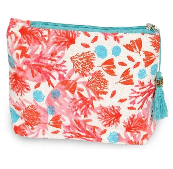 Bright And Fun Print Accessory Pouch