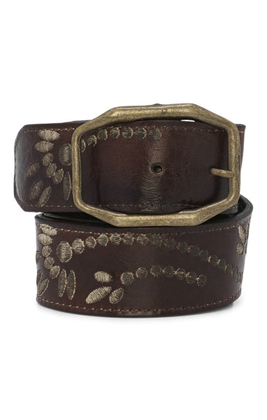 BedStu Mohawk Belt - Teak - LilloBellaBoutique.com