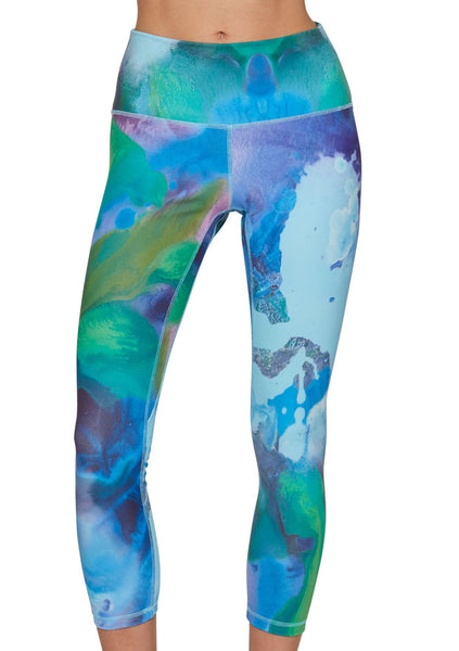 Claire Desjardins Wearable Art- My Name Is Velvet Yoga Pant