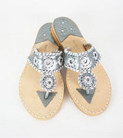 Palm Beach Sandals - Classic Gunmetal