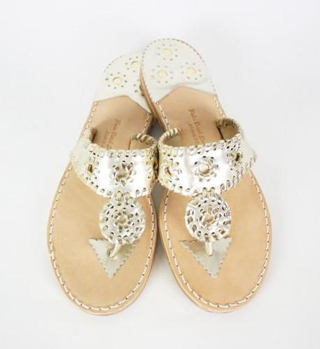 Palm Beach Sandals - Classic Platinum
