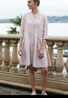 Patricia Linen Dress - LilloBellaBoutique.com
