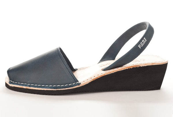 Pons Avarca Wedge Sandal - French Blue - LilloBellaBoutique.com