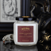 Purification Soy Candle - Inspired by Herbal Folklore - LilloBellaBoutique.com