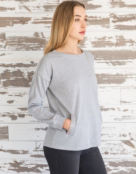 Sophia Pullover Top - LilloBellaBoutique.com