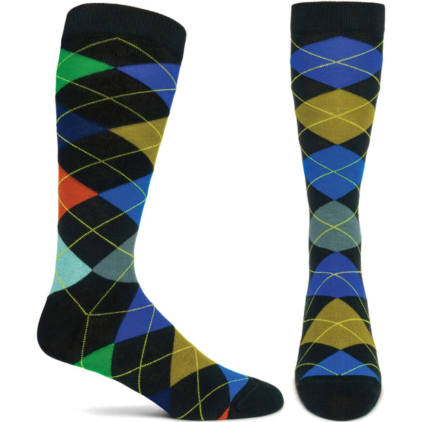 Men's Carnival Sock - Navy - LilloBellaBoutique.com