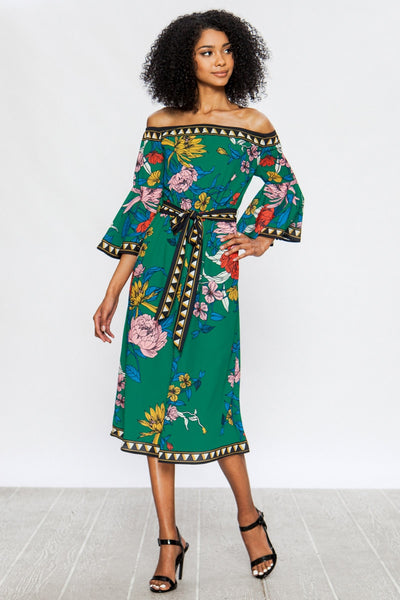 Monique Floral Dress