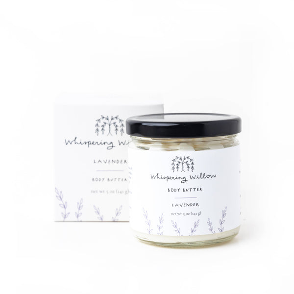 Whispering Willow Body Butter - Lavender - LilloBellaBoutique.com