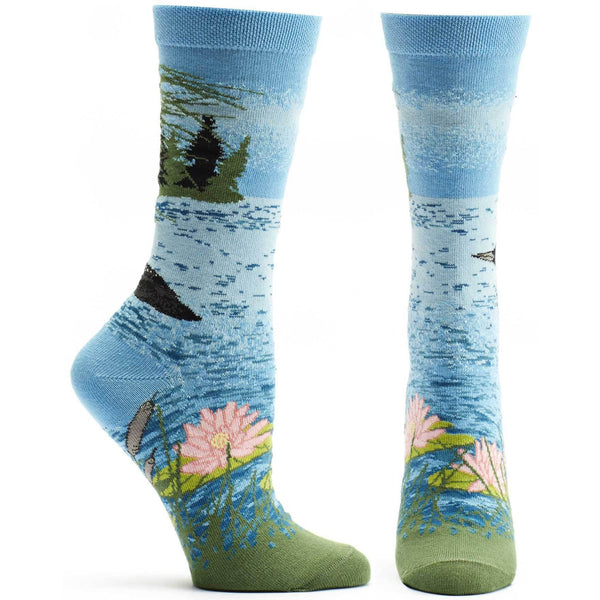 Ozone Socks - Loon Lake - LilloBellaBoutique.com