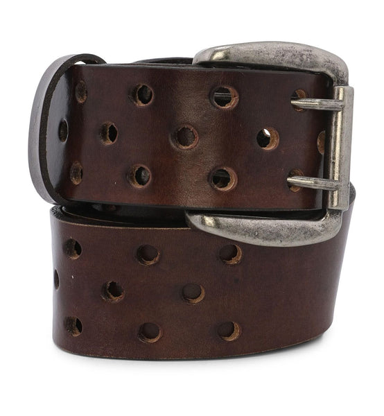 BedStu McCoy Leather Belt - Brown