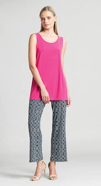 Clara Sunwoo Long Scoop Tank - Pink - LilloBellaBoutique.com