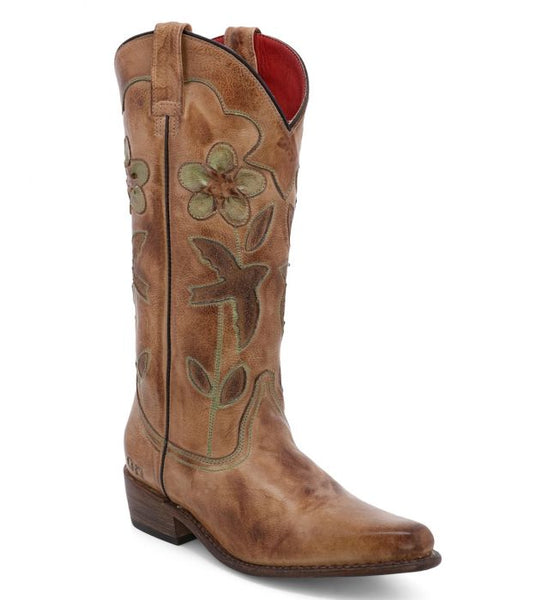 Bed Stu Valencia II Cowboy Boot - Tan