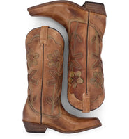Bed Stu Valencia II Cowboy Boot - Tan Gold - LilloBellaBoutique.com