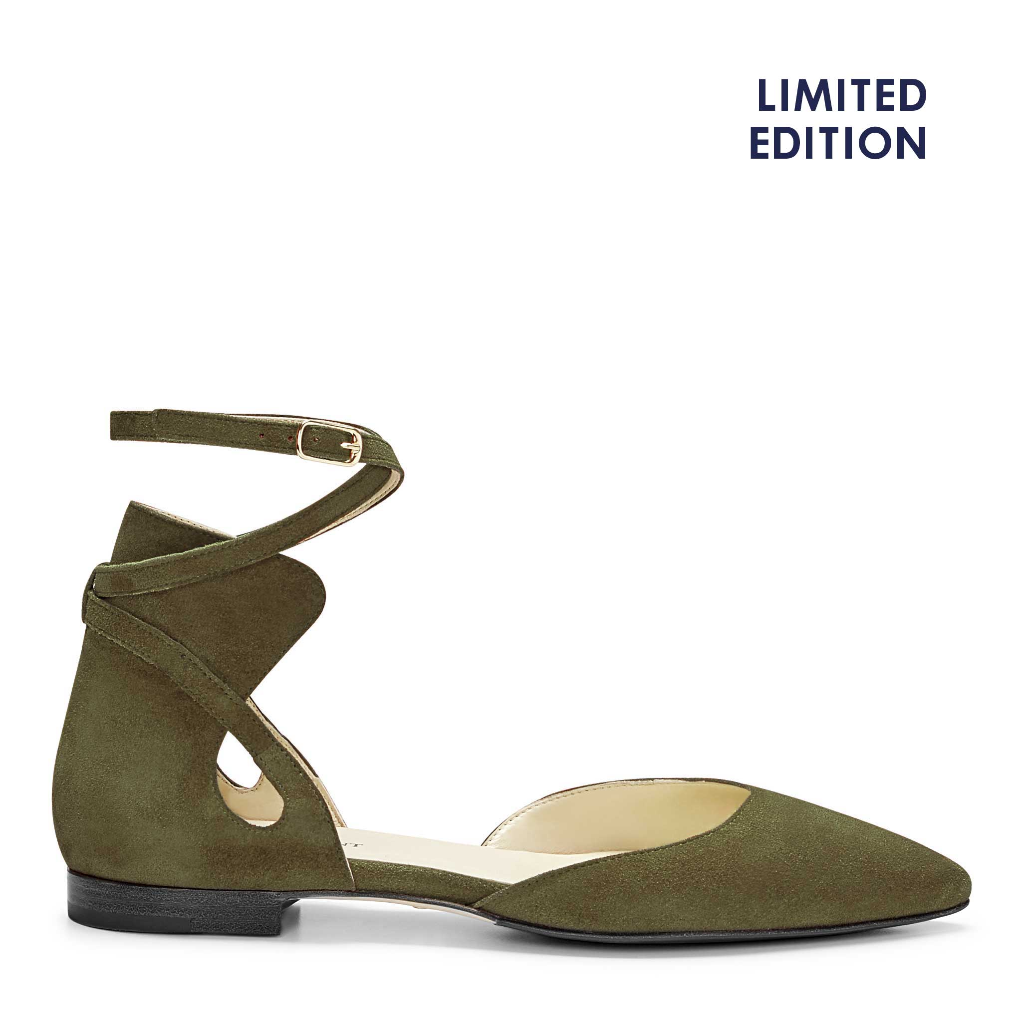 COLOR|Olive Crosta Suede