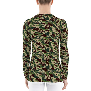 SRVNT Jesus Camo Rash Guard