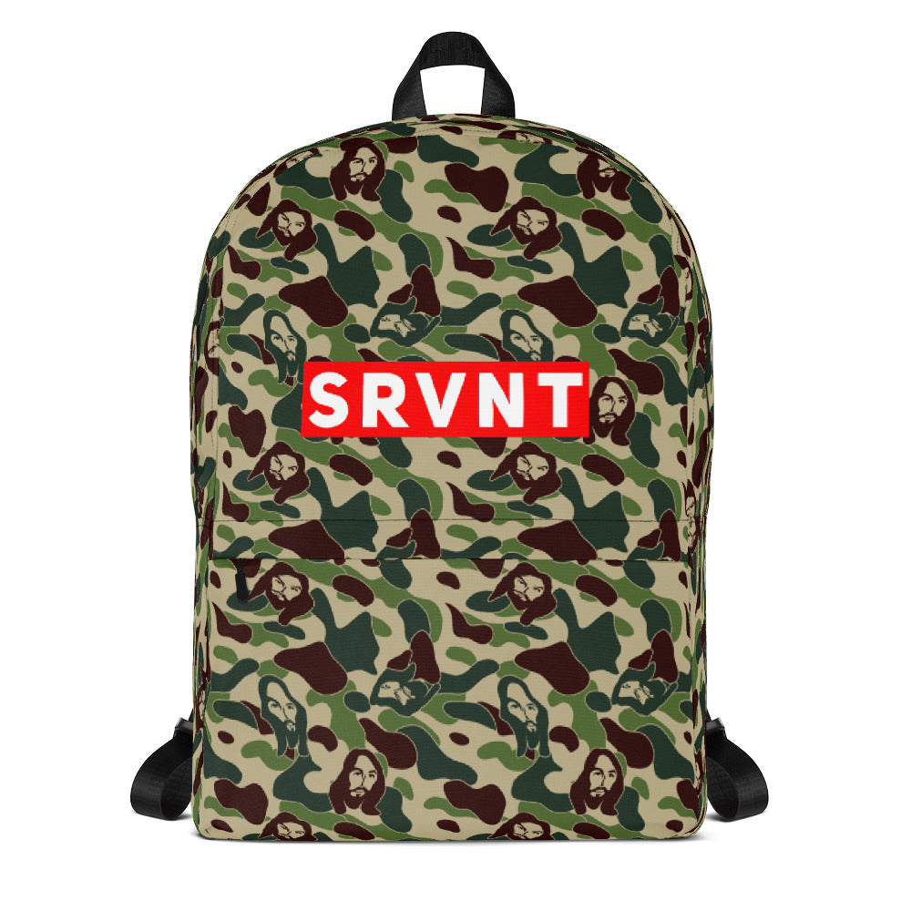 SRVNT Jesus Camo Backpack