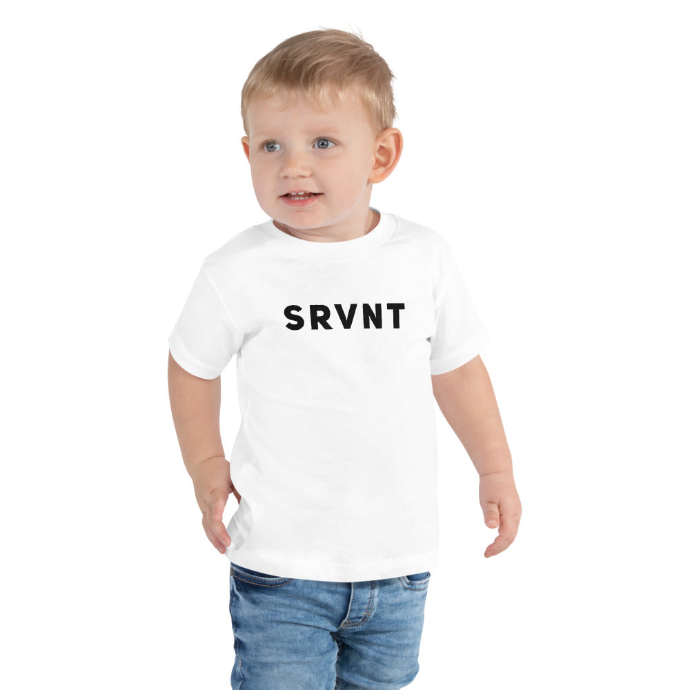 Toddler SRVNT Short Sleeve- White