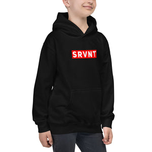 Youth Supreme SRVNT Hoodie-Black