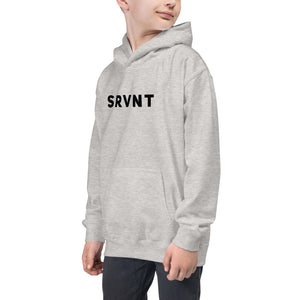 Youth SRVNT Hoodie-Grey