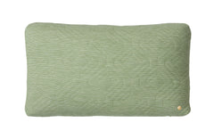 Light Green Quilt Cushion