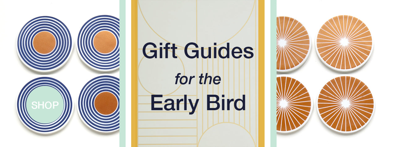Modern Gift Guides for the Early Bird