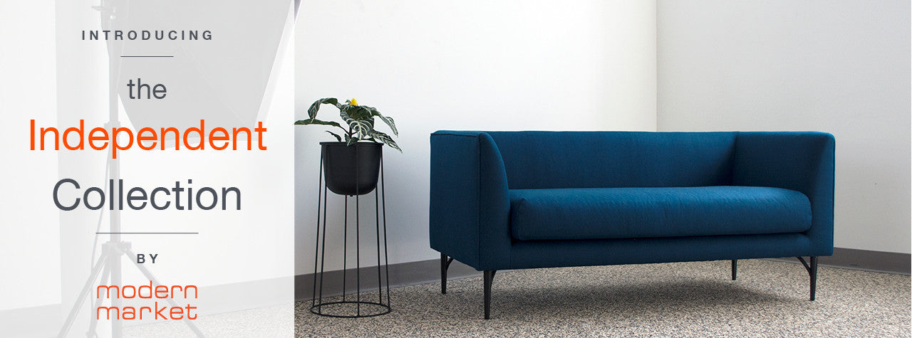 Modern Market's Independent Collection Sofas, Daybeds, Chairs