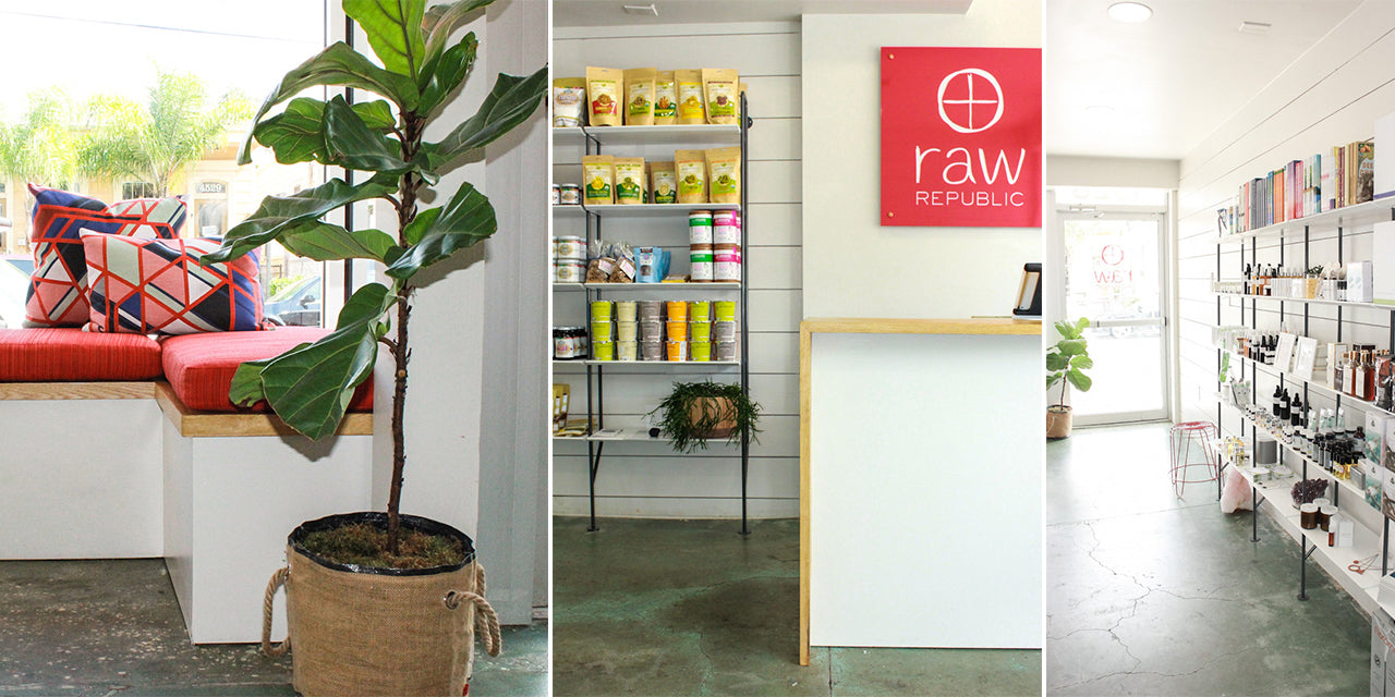 Cold Pressed Juice Wellness Boutique