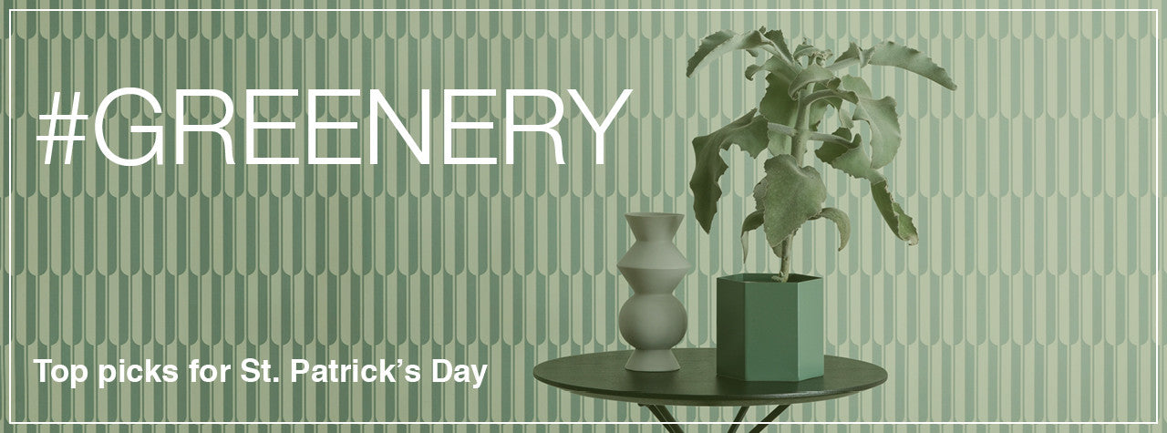 Top Pick Green Furniture & Accessories Picks for Saint Patrick's Day
