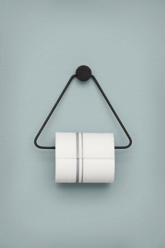 Toilet Paper Holder Black Timeless Modern Market