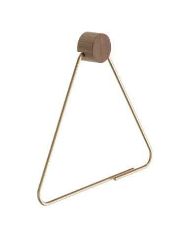 Toilet Paper Holder Brass