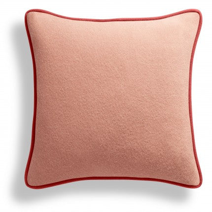 Duck Duck Square Pillow Pink
