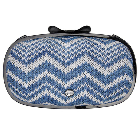 IPhone Purse Case SE, 5 & 5S Delicious Agent Antibes Grass Chevron Light Blues