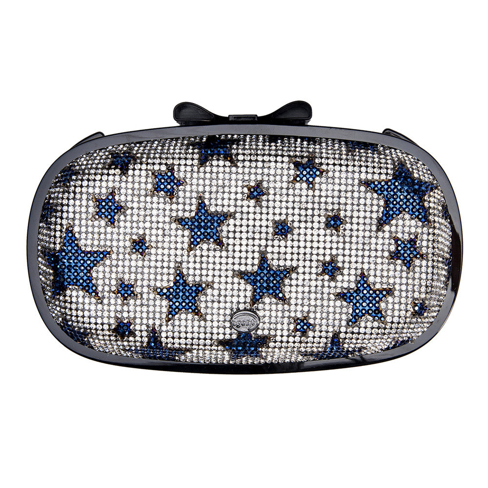 IPhone Purse Case SE, 5 & 5S Delicious Agent Diamonds Blue Stars