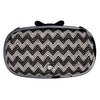 IPhone Purse Case SE, 5 & 5S Delicious Agent Chevron Black
