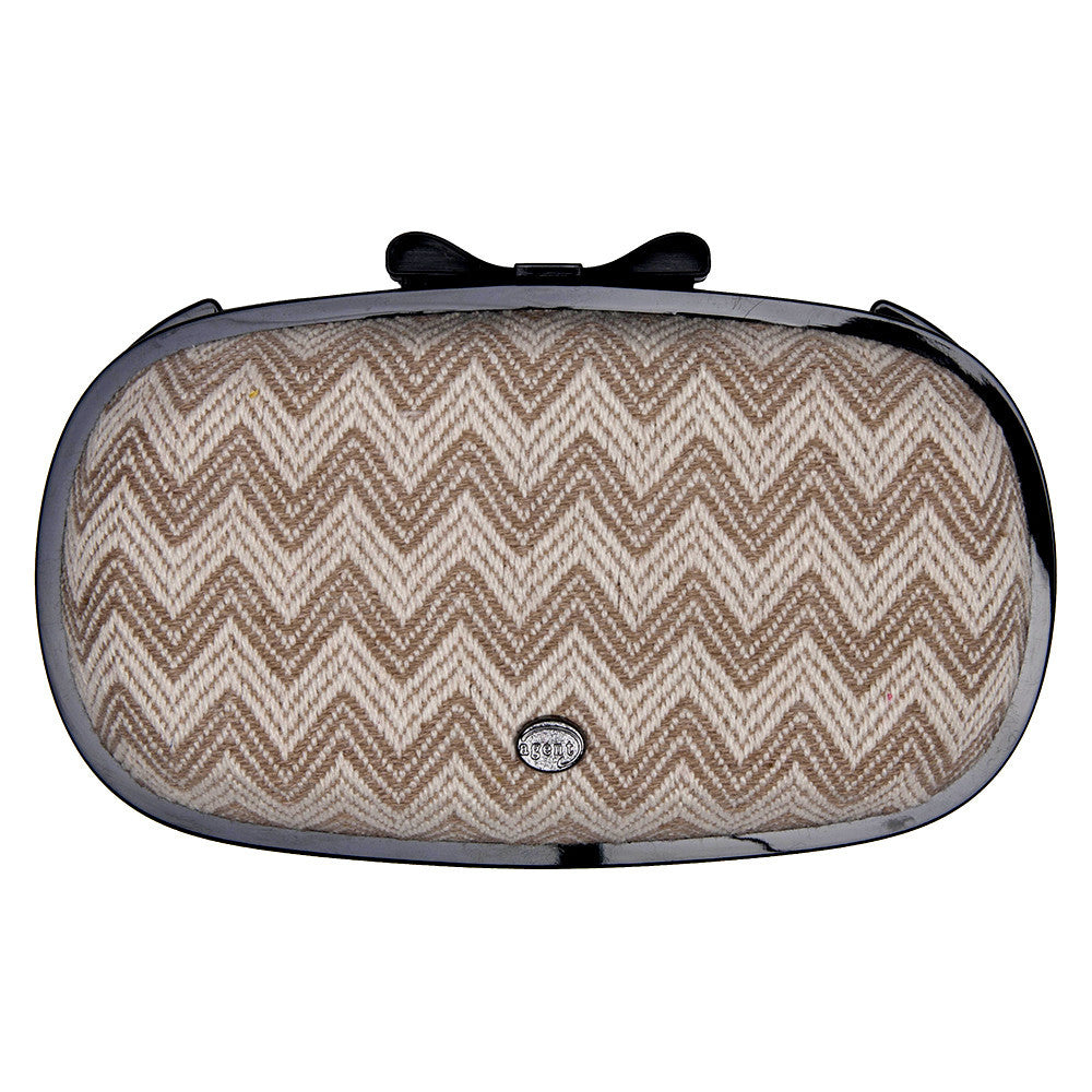 IPhone Purse Case SE, 5 & 5S Delicious Agent Chevron Natural