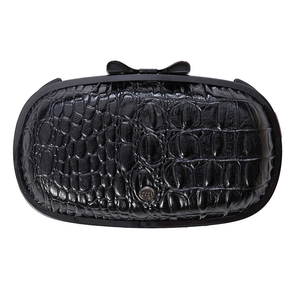 IPhone Purse Case SE, 5 & 5S Delicious Agent Crocodile Black