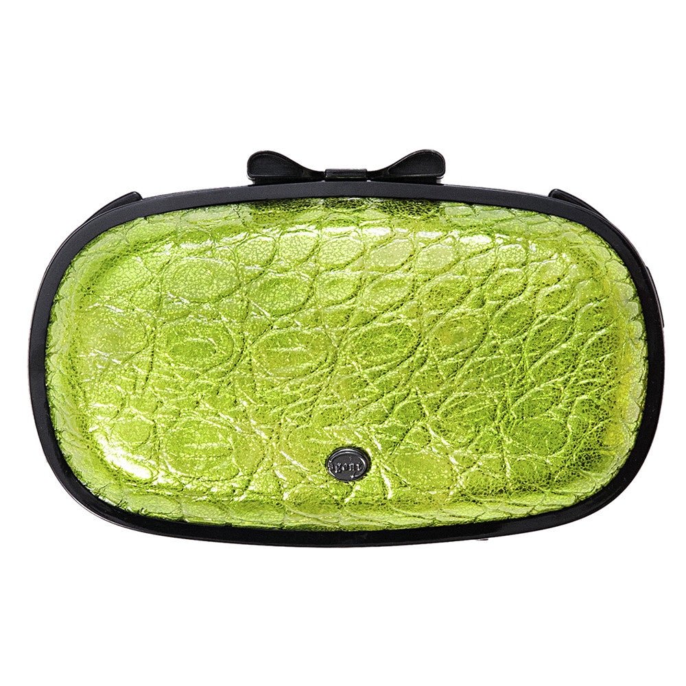 IPhone Purse Case SE, 5 & 5S Delicious Agent Patent Alligator Green