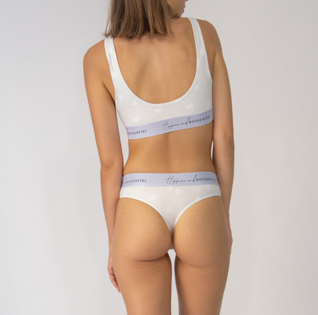 Thong in Creamy Love