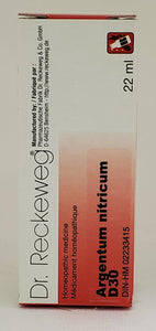 Argentum nitricum D30 - Dr. Kohli's Herbal Products