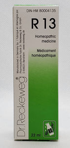 R 13 Dr.Reckeweg - Dr. Kohli's Herbal Products