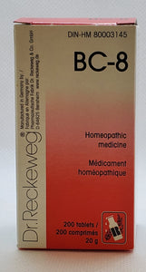 BC 8 Dr.Reckeweg - Dr. Kohli's Herbal Products