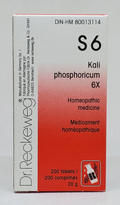 Kali phos 6x - Dr. Kohli's Herbal Products