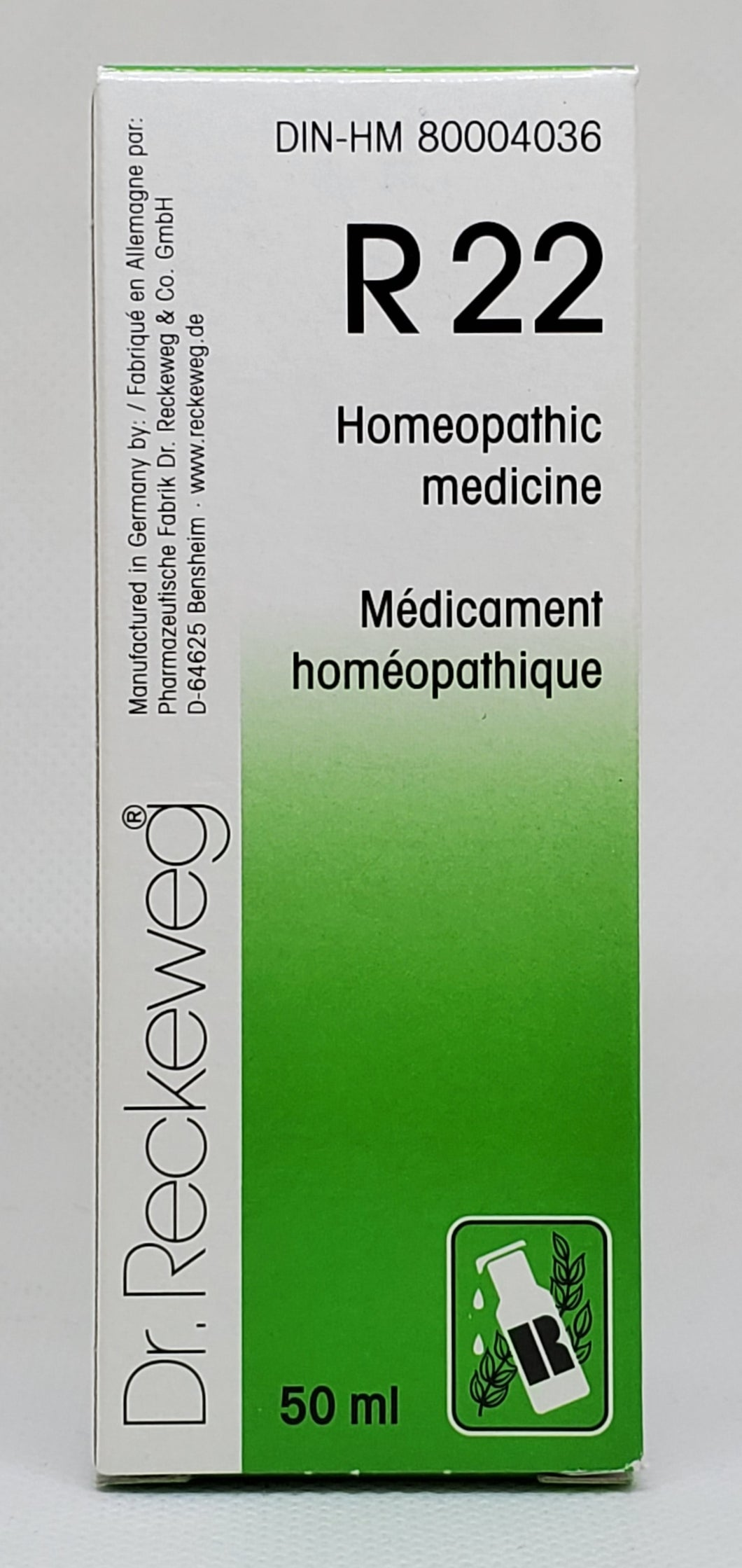 R22 Dr.Reckeweg - Dr. Kohli's Herbal Products